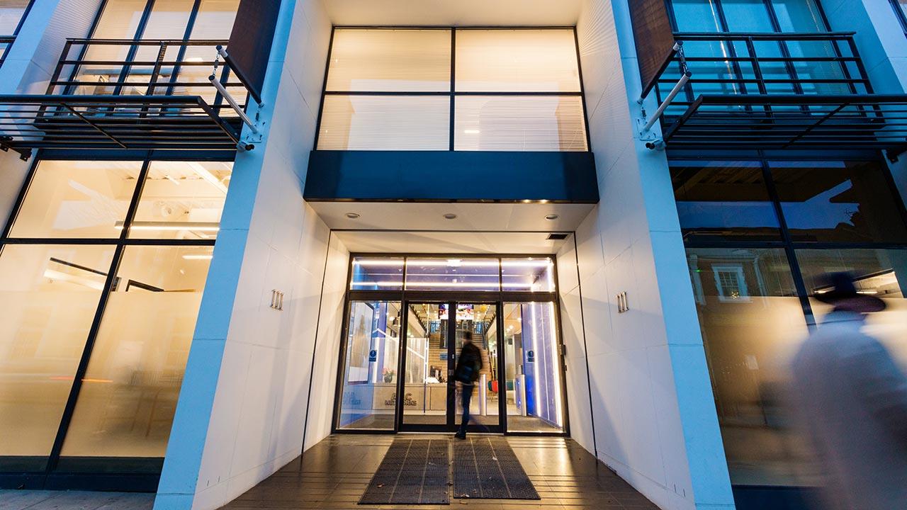 Grade A headquarters building